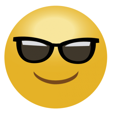 Sunglasses Emoji Cool Picture PNG Images