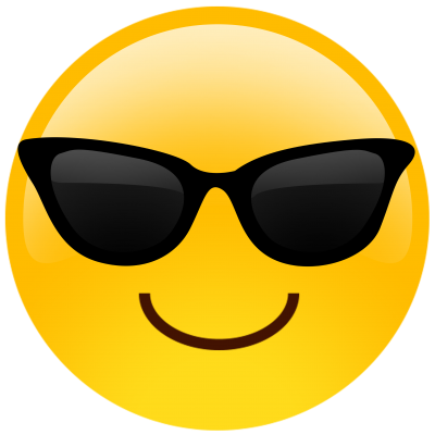 Sunglasses Emoji Picture PNG Images