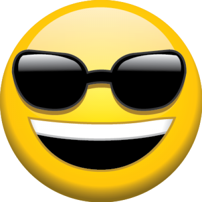 Sunglasses Emoji Happy Amazing Image Download PNG Images