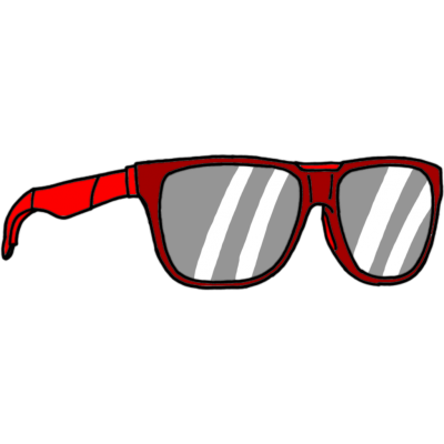 Red Sunglasses Pictures PNG Images