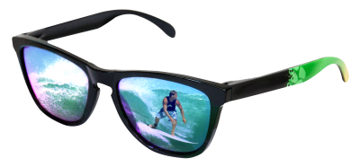 Sunglasses With Surfer Reflection Png Images PNG Images