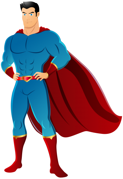 Cartoon Handsome Superhero Png images PNG Images