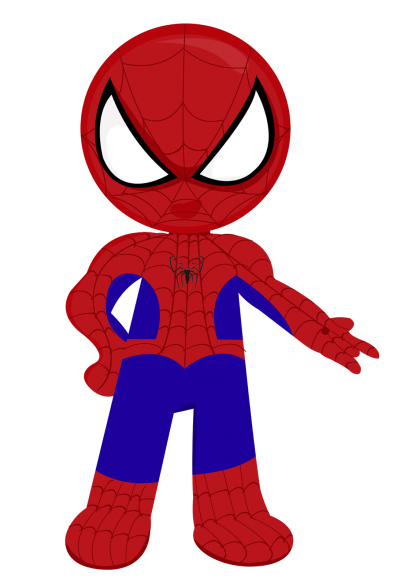 Cartoon Spider Man Superheroes Clipart Download PNG Images