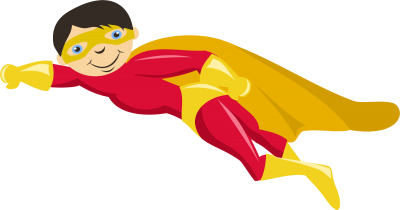 Kids With Superheroes Costumes Png Photo PNG Images