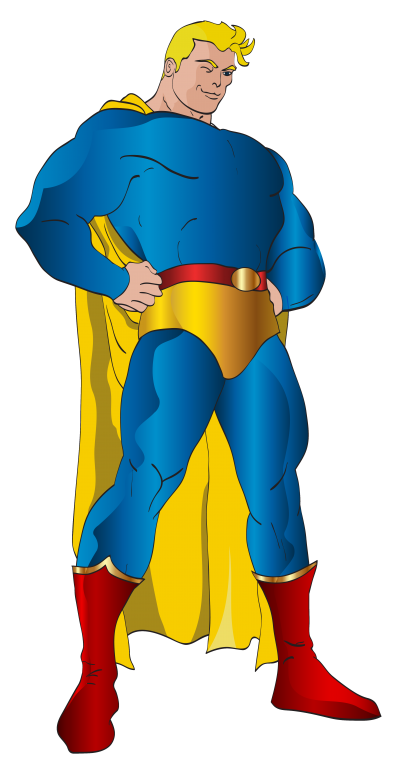 Strong, Blonde Superhero Png Photos PNG Images