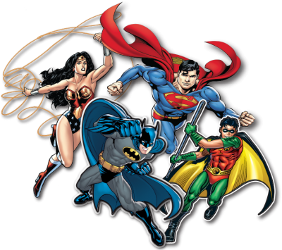Superheroes Free Clipart PNG Images