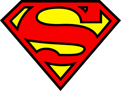 Red Yellow Superman Logo Free Transparent Png PNG Images