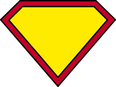 Superman Logo Blank HD Image PNG Images