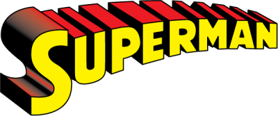 Superman Logo Text Transparent