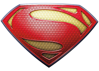 Superman Logo Texture Clipart HD