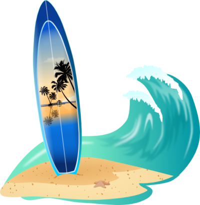 Surfing Sea Wave Clipart Photo PNG Images