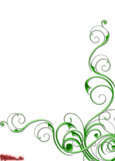 Corner Swirls Clipart Transparent