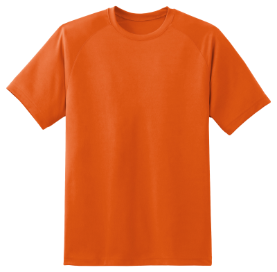 Orange T Shirt Image