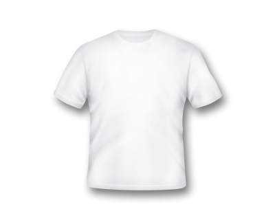 White Beautiful T Shirt Transparent Image