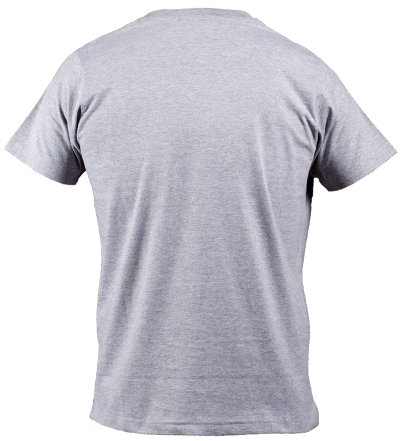 Man Gray T Shirt Clipart Transparent