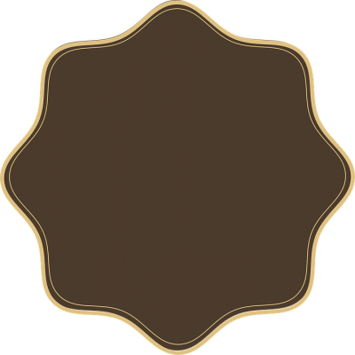 Brown Shaped Tag Background Transparent Png PNG Images