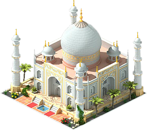 Taj Mahal Cut Out PNG Images