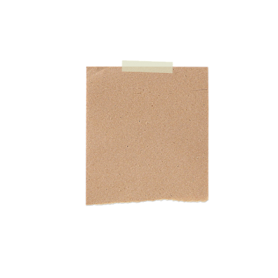 Brown Sticky Note Paper Png Free PNG Images