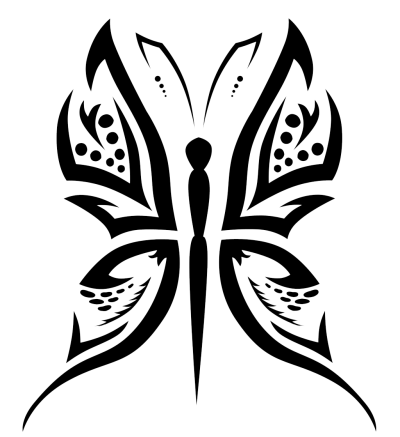 Butterfly Tattoo Designs Png PNG Images