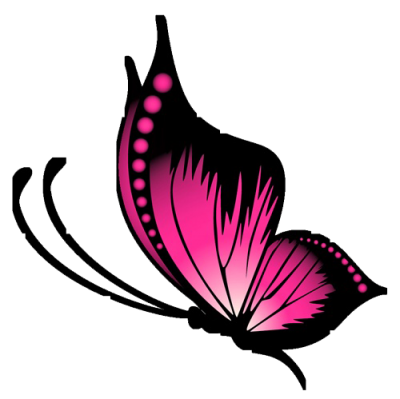 Purple Butterfly Tattoo Designs Png Transparent