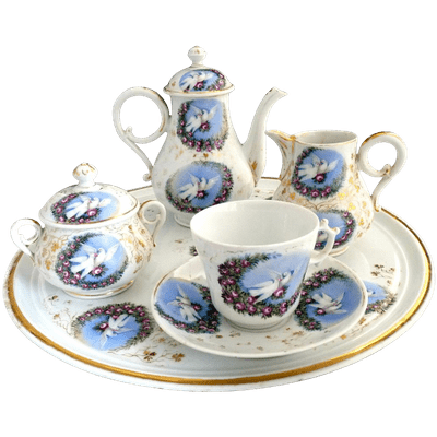 Great Tea Set Image PNG Images