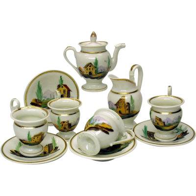 Tea Set Background PNG Images