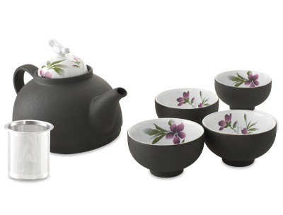 Dark Tea Set Clipart  Photos PNG Images