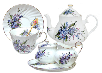 Tea Set Pictures PNG Images