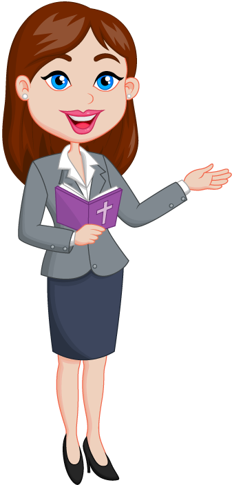 Woman Teacher Png Background Clipart PNG Images