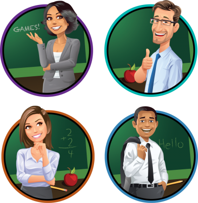 Foursome Teacher Transparent Background Hd Free Download, Female, Male, Behavior, instructive, School PNG Images