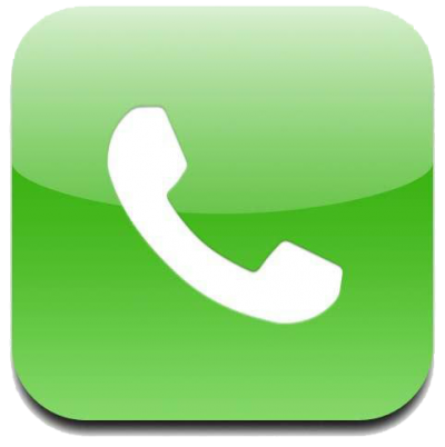 Green Phone Logo Png Clipart