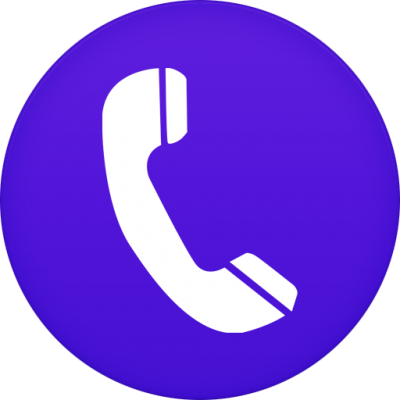 Phone Icon Circle Png