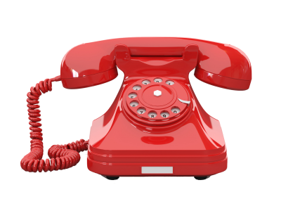 Red Old Telephone Png Transparent Images