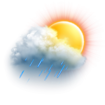 Cloudy Rain Weather Temperature Png Pictures