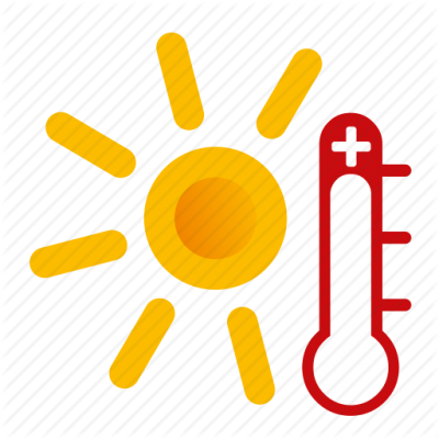 Hot, Sunny, Weather Icon  Icon