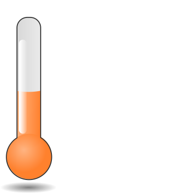 Orange Clipart Weather Icon Png
