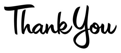 Thank You Vector PNG Images