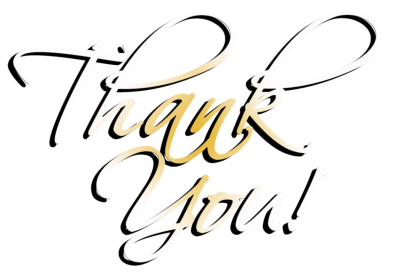Thank You Cut Out PNG Images