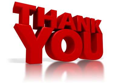 Thank You Clipart Transparent PNG Images