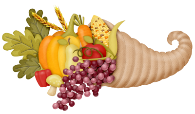 Fruit, Leaf, Thanksgiving Cornucopia Pictures PNG Images