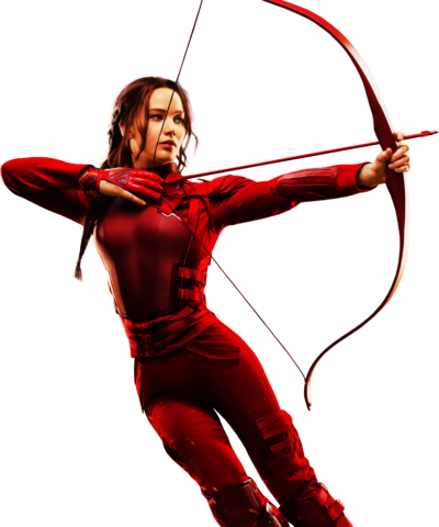 The Hunger Games Symbol Girl Arrow