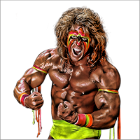 The Ultimate Warrior Cut Out PNG Images