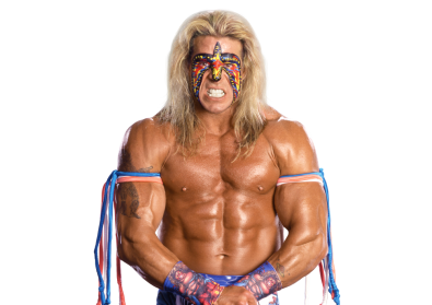 The Ultimate Warrior Cut Out Png