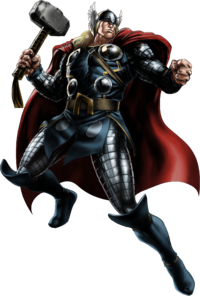 Thor Clipart PNG File
