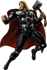 Thor Muscle Image PNG Images