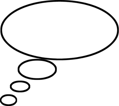 Thought Bubble Png Clipart
