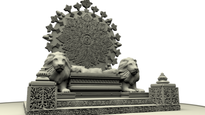 Throne Vector PNG Images