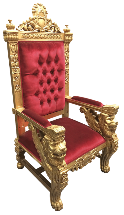 Throne Cut Out Png PNG Images