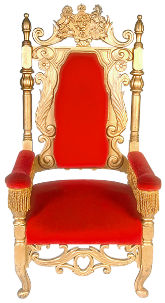 Red Throne Transparent Image PNG Images