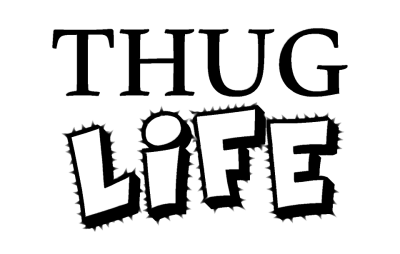 Thug Life Meme High Quality PNG PNG Images